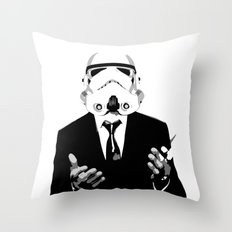 GQ Trooper Throw Pillow
