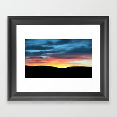 A Touch of Glow Framed Art Print