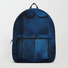 Cool Calm Indigo Color Design Backpack