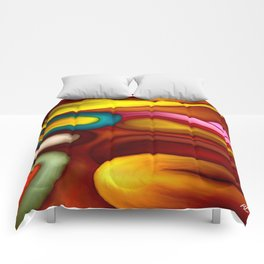 loops by rafi talby Comforters