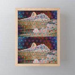 Hill cableway Rio de Janeiro Framed Mini Art Print