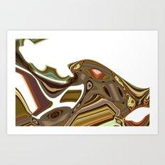 astratto Art Print