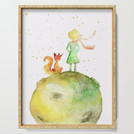 Little Prince and Fox Serving Tray