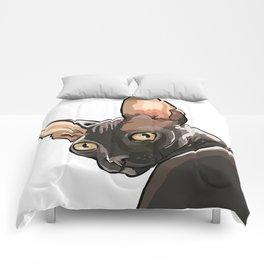 The Look - Cornish Rex Comforters