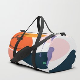 abstract dripping Duffle Bag