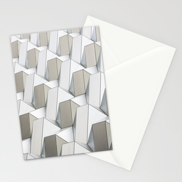Pattern cubism Stationery Cards