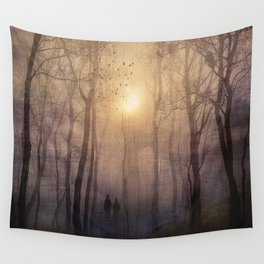 Eternal walk by Viviana Gonzalez Wall Tapestry