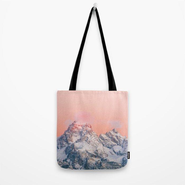 Alpenglow LIVING CORAL Mountain Sunset Umhängetasche