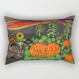 Happy Thanksgiving 2017 Rectangular Pillow