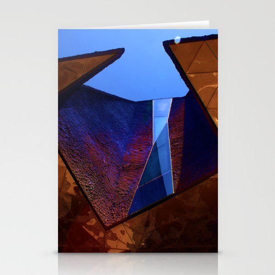 Angles in Barcelona Stationery Cards