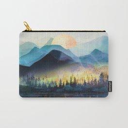 Mountain Lake Under Sunrise Tasche