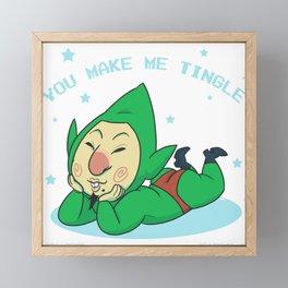 You Make Me Tingle Framed Mini Art Print