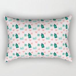 Gin and tonic pattern Rectangular Pillow