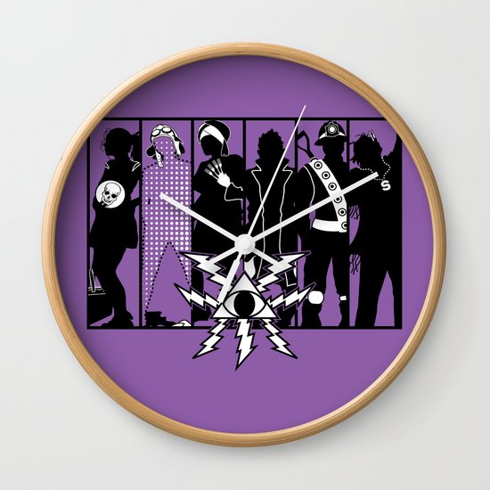 Mystery Men - The Other Guys Wall Clock