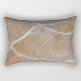 Marble - Travertine Rectangular Pillow