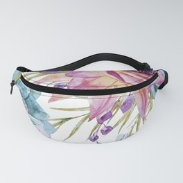 FLOWERS WATERCOLOR 19 Fanny Pack