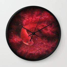 Cosmic Betta No. 1 Wall Clock