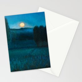 Nocturn a Llore - The Color of Night landscape by Benet Martorell Stationery Cards