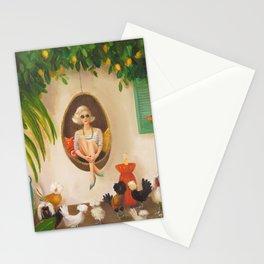 Extraodinary Chickens Stationery Cards