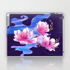 Magnolia night Laptop & iPad Skin