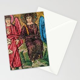 Judgement Day of the Sheep and the Goats Mosiac Basilica of Saint Apollinare Nuovo, Ravenna, Italy Stationery Cards
