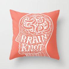 Brainknot Throw Pillow