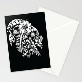 Maui Polynesian Tribal Threads Stationery Cards