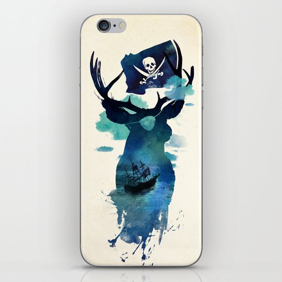 Captain Hook iPhone & iPod Skin