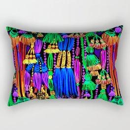 glow tassels Rectangular Pillow