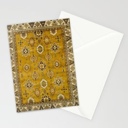 Antique Persian Mustard Stationery Cards