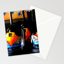 Bumper Cars Stationery Cards
