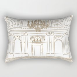 Royal Ballroom Rectangular Pillow
