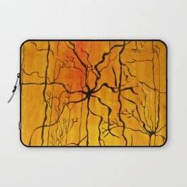 Neural Activity (An Ode to Cajal) Laptop Sleeve
