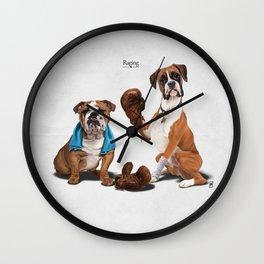 Raging Wall Clock