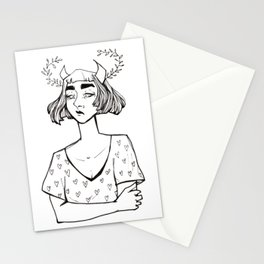 Little Hearts Demon Stationery Cards