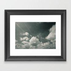 Sea of Cloud Framed Art Print