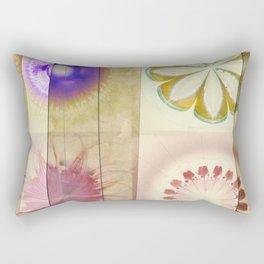 Gleeted Substance Flower  ID:16165-082307-33861 Rectangular Pillow