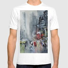 New York - New York Mens Fitted Tee White MEDIUM