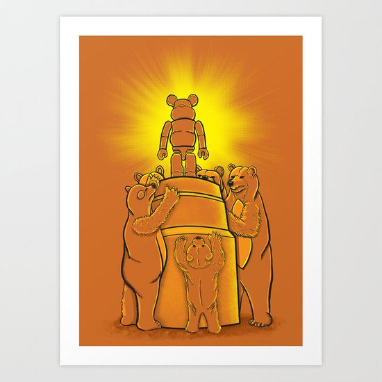 Lord of the Bears Art Print