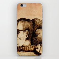 Morning Support iPhone & iPod Skin