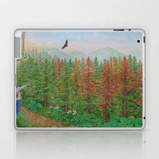 A Day of Forest(8). (coniferous forest) Laptop & iPad Skin