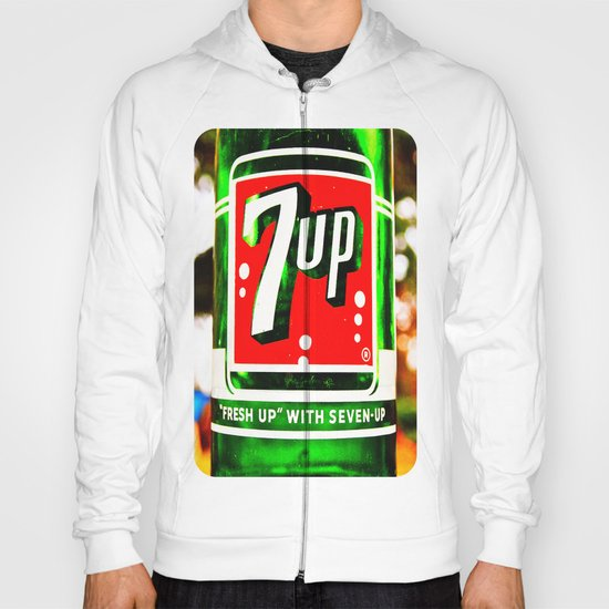 """""""Fresh up"""" with Seven-Up Hoody"""