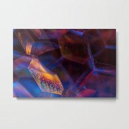 Nightfall Bubbles Metal Print