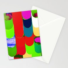 abstract art, pattern, print Stationery Cards