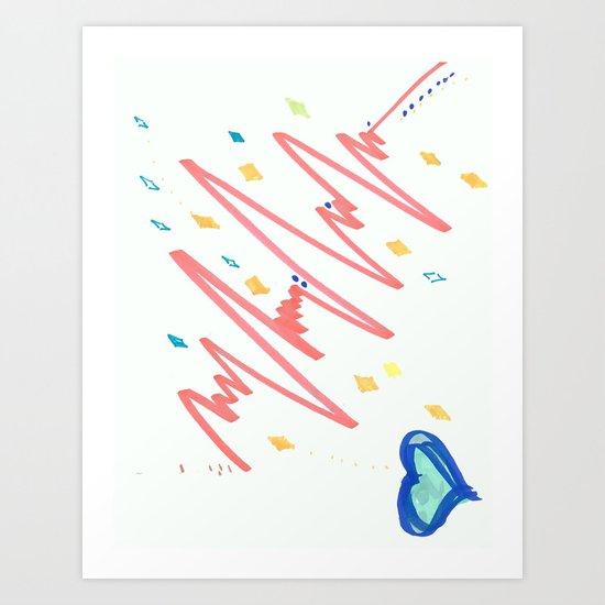 Fine Frenzy  Art Print