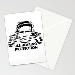 FAC 1 tribute - Factory Records - Use Hearing Protection Stationery Cards