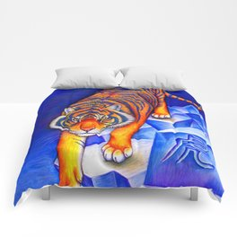Chinese Zodiac Year of the Tiger Comforters