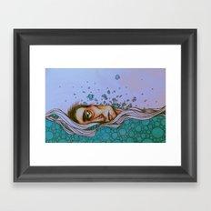 Floating On By Framed Art Print