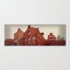 Industriromantik: Sockerbruket Canvas Print
