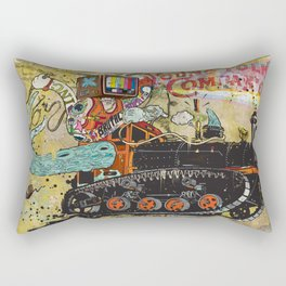 Never Again Tomorrow Express Rectangular Pillow